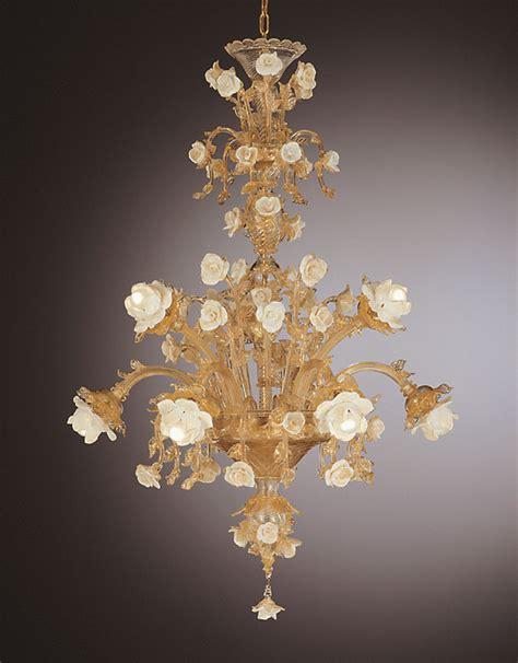 venetian glass chandelier venetian glass chandeliers 8 lights venetian glass