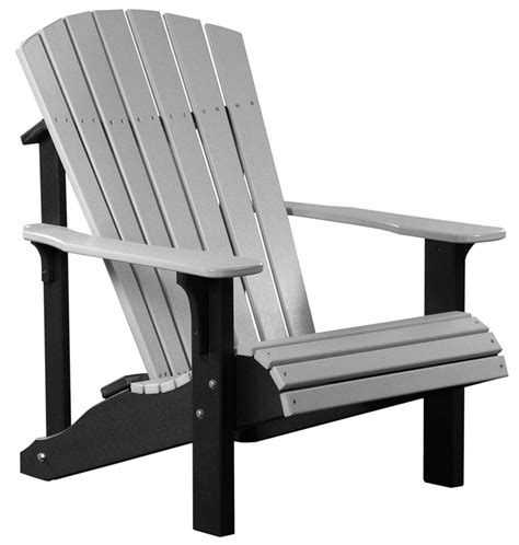 Amish Adirondack Chairs Polywood by Luxcraft Deluxe Adirondack Chair From Dutchcrafters Amish