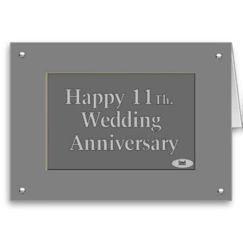 happy  wedding anniversary steel card zazzlecom