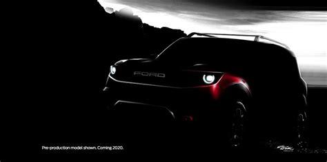 ford teases  range  cars including   bronco