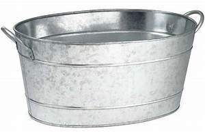 Galvanized, Oval, Wash, Tub, Remodelista