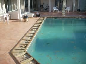 nivremcom terrasse bois piscine margelle diverses With margelle en bois pour piscine