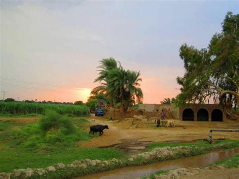 awesome village view pakistan images