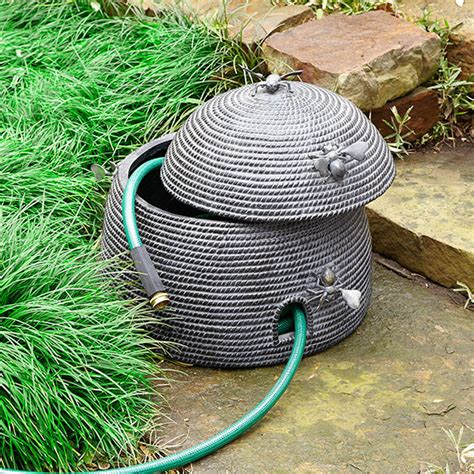 beehive hose holder garden hose reels by wisteria