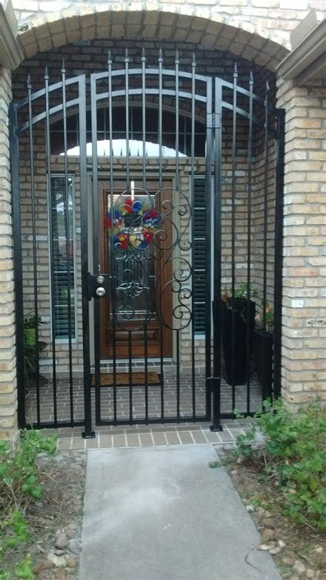 Wrought Iron Doors  Fence Geeks  Wrought Iron Fences. Reclaimed Wood Barn Door. Garage Door Opener With App. Modine Propane Garage Heater. Garage Door Repair Cave Creek Az. Epoxy Paint For Garage. Mail Slot For Door. Garage Door Torsion Springs Lowes. H&c Garage Floor Epoxy