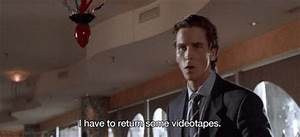 Christian Bale Videotapes GIF - Find & Share on GIPHY