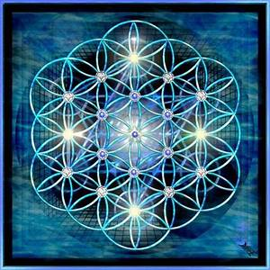 Flower of Life on Metatron's Cube by ParaisaDesign on ...