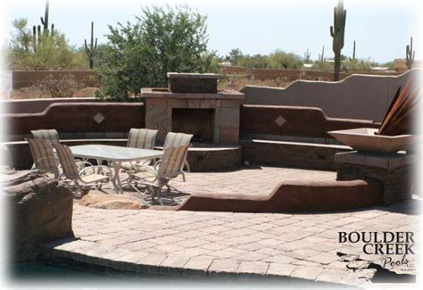 custom fireplaces bbqs more from boulder creek pools