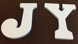 winter joy sign With white wood letters michaels