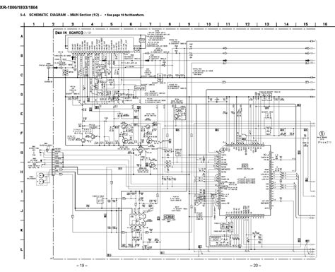 Diagram Of Sony by Sony Xr 1804 Schematic Diagram Front In Pdf