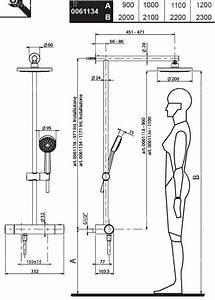 hauteur robinetterie douche italienne ciabizcom With hauteur robinet douche italienne