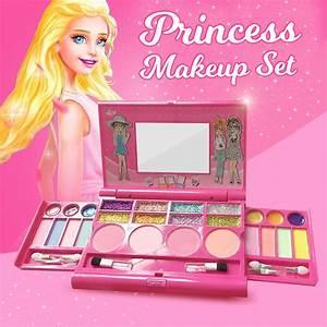 kids makeup kit For Kids Cosmetic Girls Kit Eyeshadow Lip ...