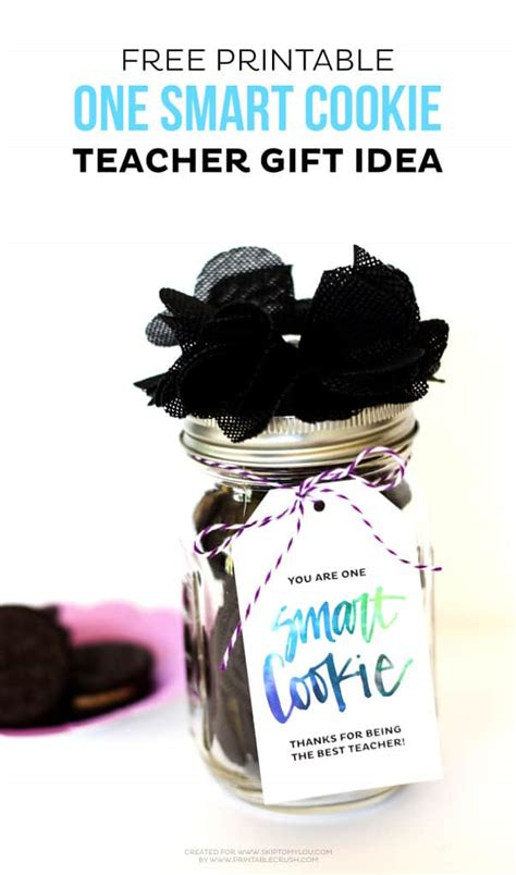 smart cookie teacher gift idea skip   lou