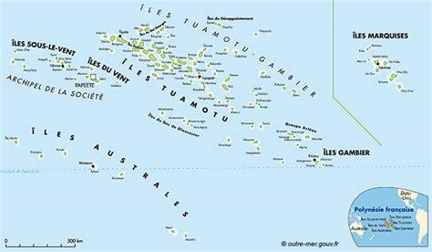 les iles marquises carte carte polyn 233 sie fran 231 aise voyages cartes