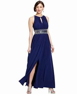 rm richards sleeveless beaded evening gown With macy s formal dresses for weddings