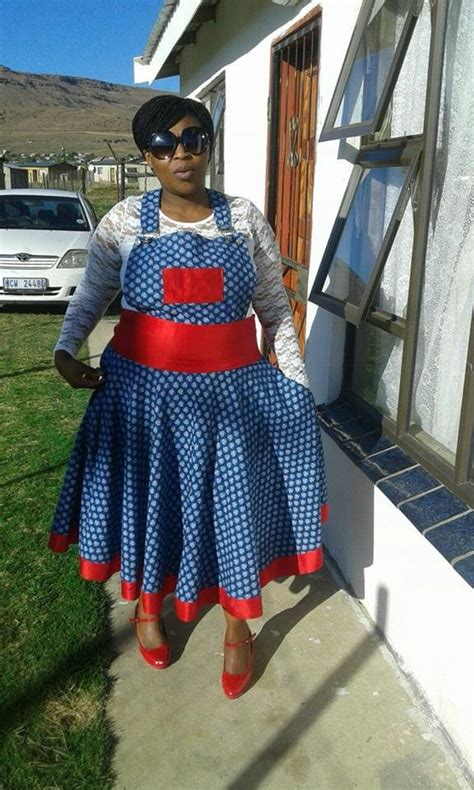 south african shweshwe traditional fashion