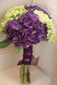 Purple & Green Hydrangea Bouquet | Mr&MrsHayes2014 ...