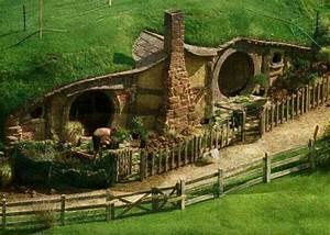Earth contact home....hobbit style