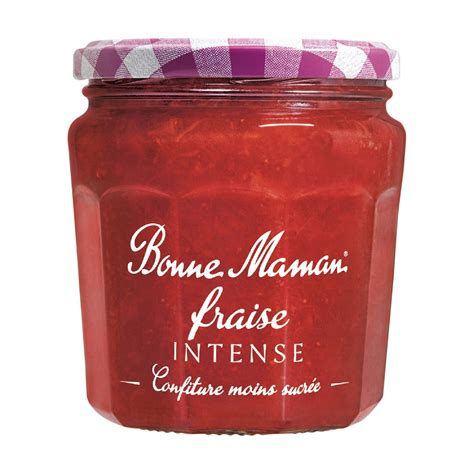 confiture fruits intenses fraise bonne maman bonne maman le pot de 335 g vos courses en