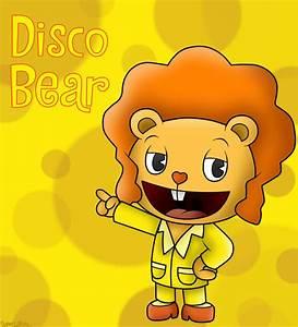 Happy Tree Friends: Disco Bear by SuperLakitu on DeviantArt