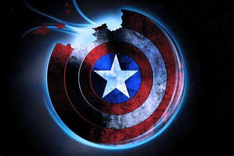 Captain America Shield Hd Pc Wallpapers 4305 Hd