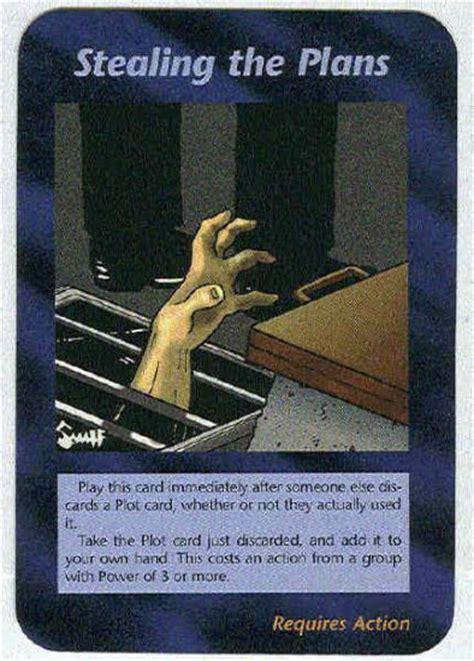 Illuminati Plans by Illuminati Stealing The Plans New World Order Card