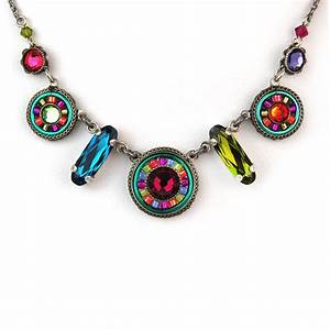 Multi-Color La Dolce Vita Mix Necklace 8506 - Firefly Jewelry