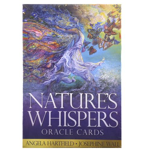 nature s whispers oracle cards by angela hartfield josephine wall 9781922161390 ebay
