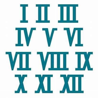 Numerals Roman Numeral Clipart Cliparts Ancient Release