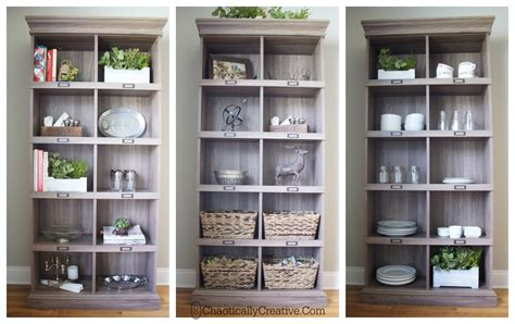 Styling Bookcases by How To Style A Bookshelf Chaotically Creative