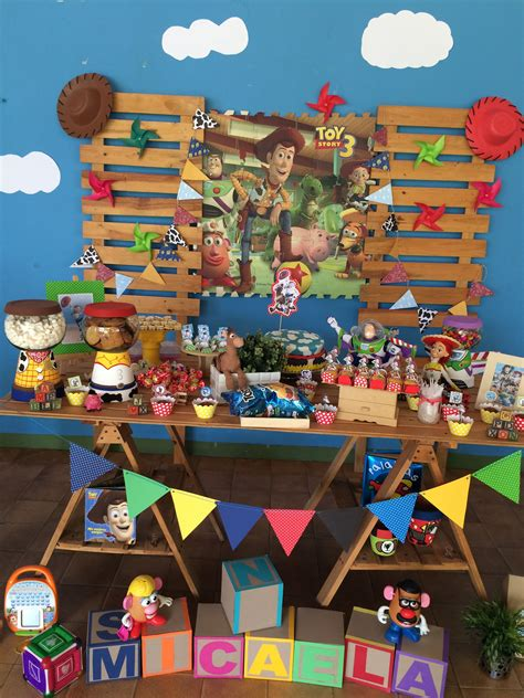 decoracion woody toy story decoraci 243 n mesa toy story toy story pinterest