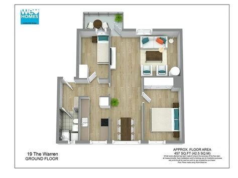 adobe house plans with courtyard 3d floor plans roomsketcher