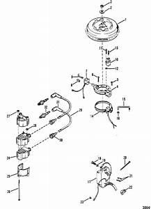 Mercury Marine 9 8 Hp Flywheel  U0026 Ignition Components Parts