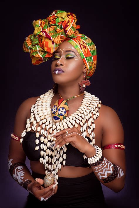 check   african tribal beauty  uber glow bn style