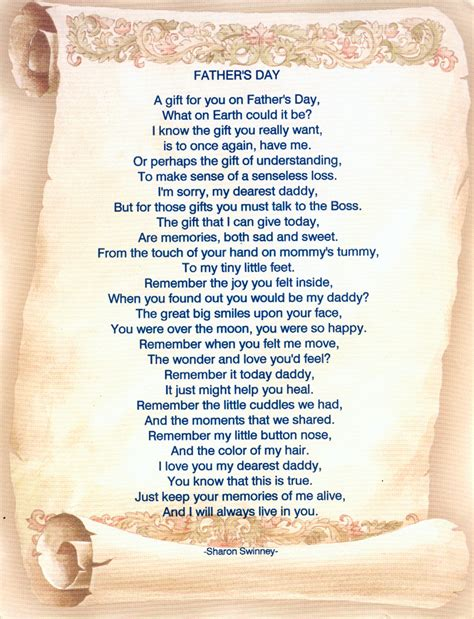 fathers day poems 25 touching fathers day poems from kids