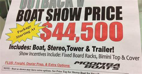 Boat Prices At Boat Show by Dyna Ski Boats Boat Show In Milwaukee With Prices