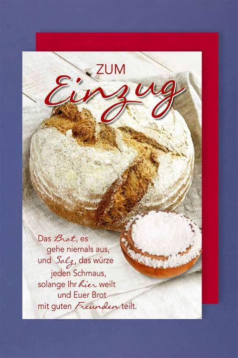 Bildergebnis Für Brot Und Salz Zum Einzug Spruch Sprüche