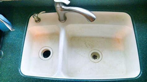 solid surface kitchen sinks restoring your solid surface sink