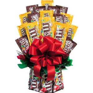 M and M Candy Bouquet