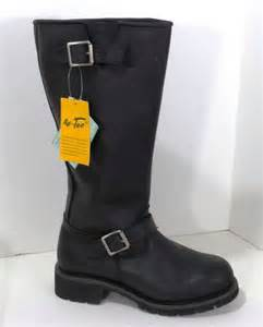 s engineer boots sale ad tec 39 s leather engineer motorcycle comfort 16 quot work boots ebay