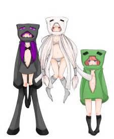 Minecraft Anime Girl Drawings