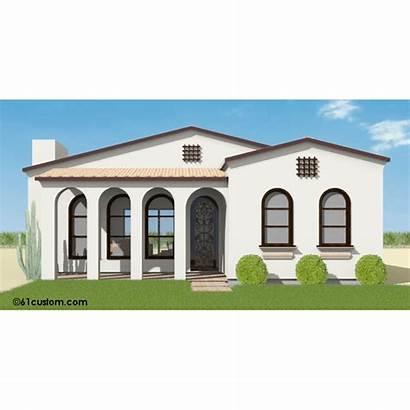 Spanish Contemporary Plan Plans Homes Casas Planos