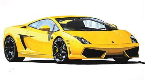 Lamborghini Gallardo Lp550-2 Drawing