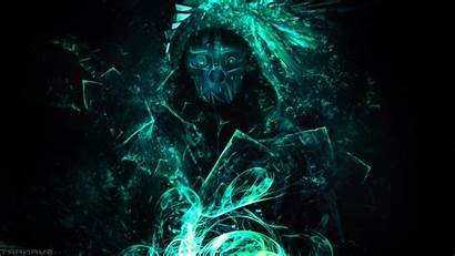 Dishonored Background Corvo Glowing Games Attano Artwork