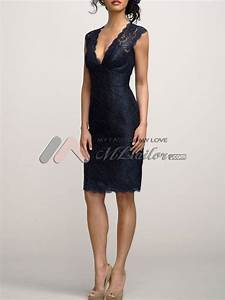 easy navy v neck lace cocktail dress now that39s my kind With navy cocktail dress wedding