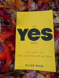 Fruits Of Success  The Yes Book By Clive Rich A Review