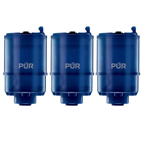 pur faucet mounted water filter pur faucet mount mineralclear replacement filter 3 pack