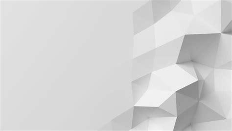 beautiful white polygonal wall waving stock footage video