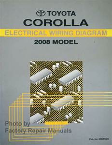 2008 Toyota Corolla Electrical Wiring Diagrams Original