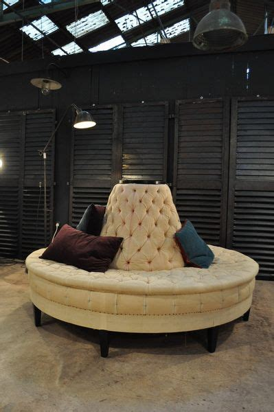 Circular Settee by Beautiful Circular Sofa From A Theater C 1950 Nord Ouest